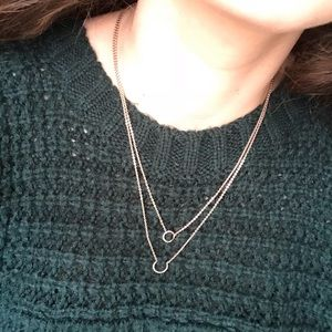 H&M Gold Dainty Necklace